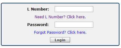 Forgot Password dialogue